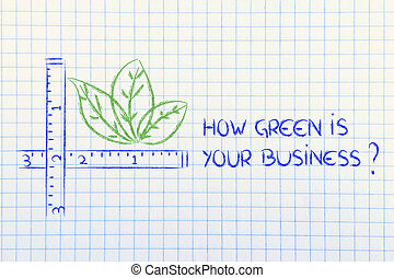 how green is your business - CSR and environment friendly...