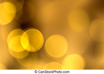 Golden Lights - Sparkling, festive, golden holiday lights