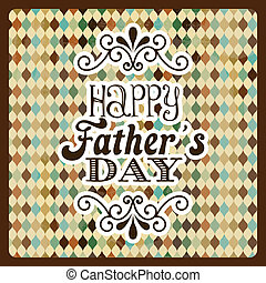 father's day - fathers day design over abstract background...