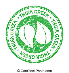 think green design over white background vector illustration...