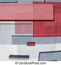 Abstract Rectangle Background.