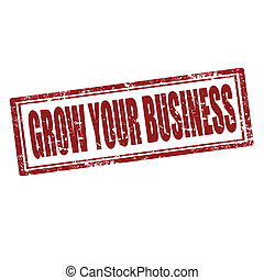 Grow Your Business-stamp