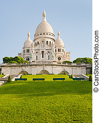 Basilica of the Sacred Heart of Paris - The Basilica of the...