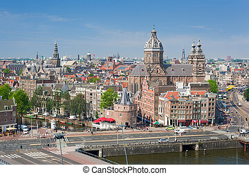 Historic center of Amsterdam