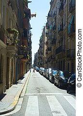 sreet, cuarto, viejo,  Barcelona