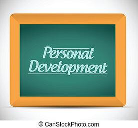 personal development message written