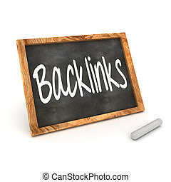 Blackboard Backlinks - A Colourful 3d Rendered Concept...
