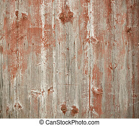 Painted wood - Background of weathered painted wood for...