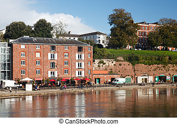 Exeter Devon England UK - Exeter Quayside Devon England UK...