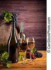 vinho, barril