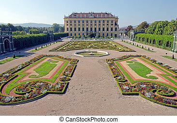 privy garden - Crown prince privy garden of Schonbrunn...