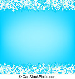 blue snow background - Light snow Christmas background for...