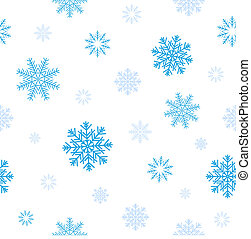 blue snow pattern - Blue snow patern for background texture...