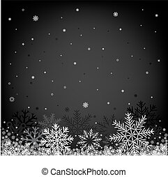 christmas black background - Black and white Christmas...