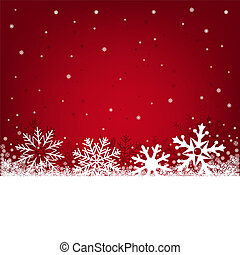 christmas red background - Red Christmas background on a...