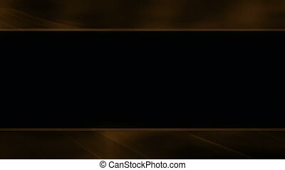 Gold Frame Looping animated background