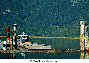 Dock at Pitt Lake
