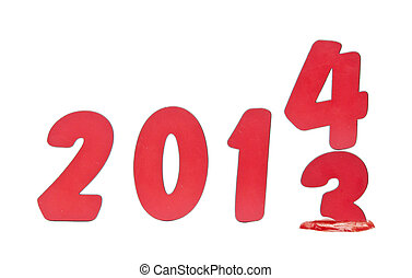 year 2013 changes to 2014