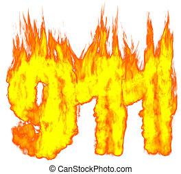 Burning 911 Number