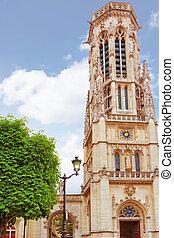 Church, Saint-Germain-l'Auxerrois, Louvre, Paris, France
