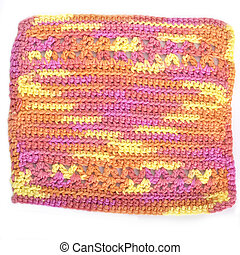 Crotched Dishcloths - Handmade crocheted dishcloth made with...