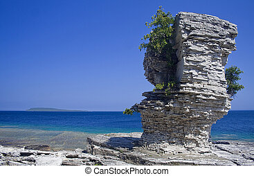 Flower Pot Island, Ontario - Scenic view from the Flower Pot...