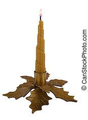 Golden candlestick