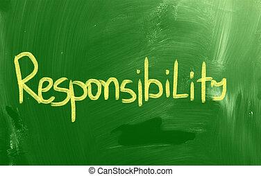 responsabilidade, conceito