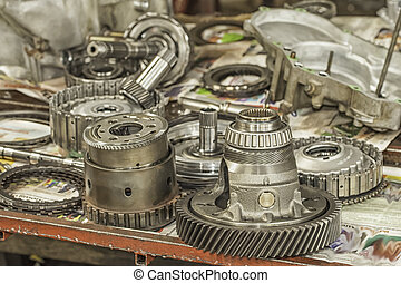 Automatic Transmission Parts - Used automatic transmission...