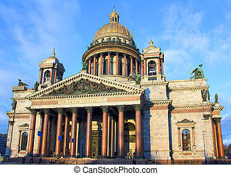 isaakiy cathedral in Saint-petersburg - isaakiy cathedral...