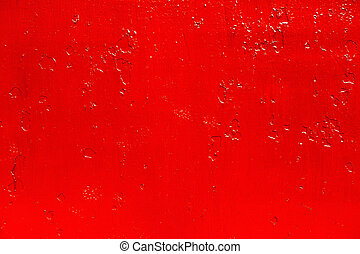 abstract background of old red paint on the metal surface