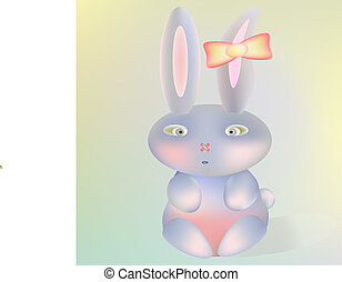 Bunny baby cute cartoon