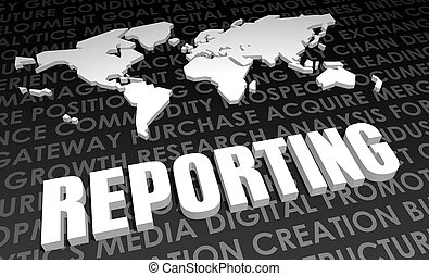 Reporting Industry Global Standard on 3D Map