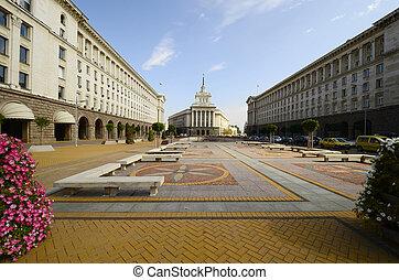 Bulgaria, Sofia - 229 - Sofia, Bulgaria - square Ploshtat...