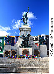 National War Memorial in Downtown St. John's Newfoundland...