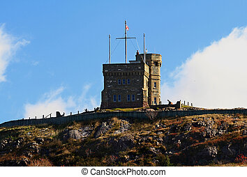 Cabot Tower St Johns Newfoundland Canada - West side of...