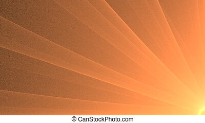 Abstract Golden Star Rotating, Seamless Loop Animated...