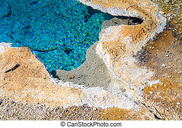 Yellowstone National Park, Chinese Spring in the Upper...