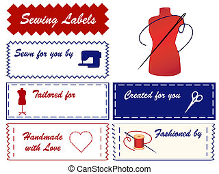 Sewing and Tailoring Labels