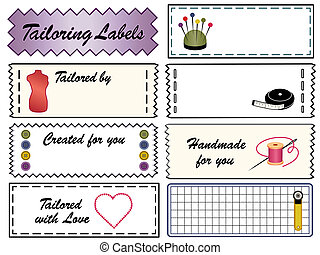 Tailoring Sewing Labels
