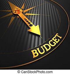 Budget Business Concept - Budget - Business Concept Golden...