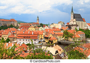 Cesky Krumlov Krumau, UNESCO World Heritage Site