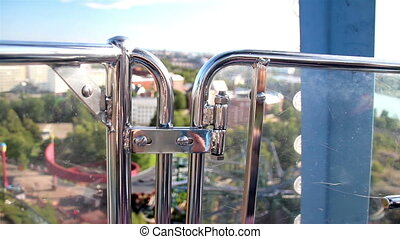 Ferris wheel bolts to ensure the safety of the fun ride A...
