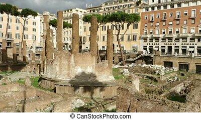 Largo Argentina in Rome