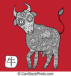 Chinese Zodiac Animal astrological sign Cow - Chinese Zodiac...