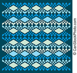 ethnic textile design vector art