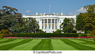 White House, Washington DC - The White House in Washington...