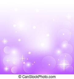 Abstract purple background with stars