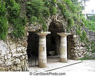 Dianas Grotto. Pyatigorsk landmarks, The Northern Caucas