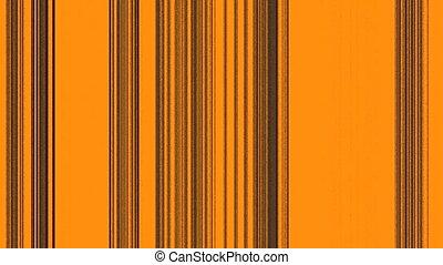 Vertical Black Lines on Orange